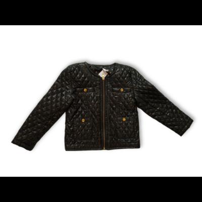 116-os fekete steppelt átmeneti kabát - Pepco