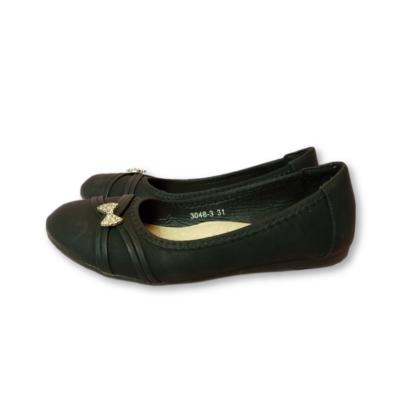 31-es fekete masnis alkalmi cipő