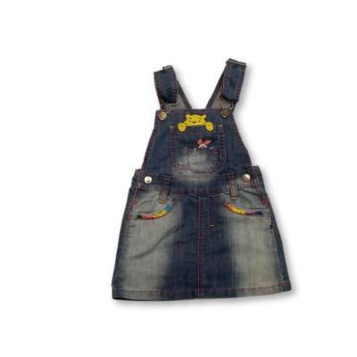 92-es kék kantáros farmerruha - Micimcakó
