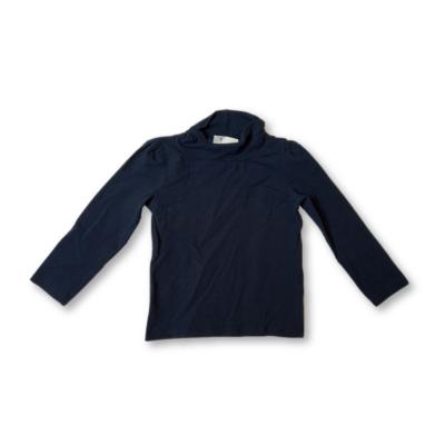 92-es kék lány garbónyakú pamutfelső - F&F