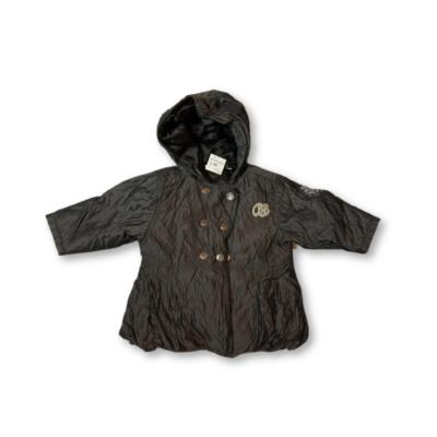 74-es szürkésfekete lány átmeneti kabát - Baby Barb