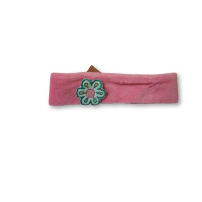 36-42 cm-es fejre rózsaszín plüss hajpánt