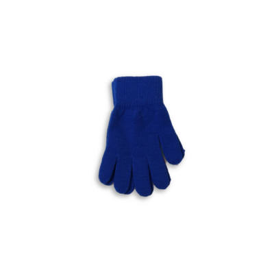 Felnőtt méretű kék kötött kesztyű - ÚJ