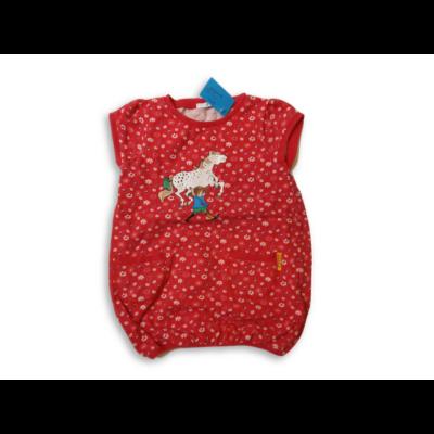 86-92-es piros lovas tunika - Harisnyás Pippi