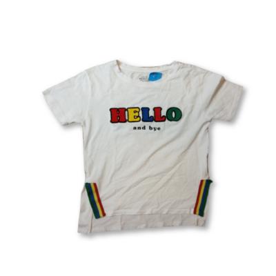 134-es fehér feliratos póló - Reserved