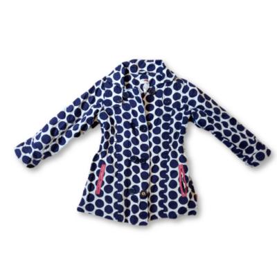 11-116-os kék-fehér pöttyös átmeneti kabát - Name it