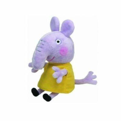20 cm-es plüss Emily elefánt - Peppa Pig - ÚJ