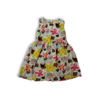 128-as virágos ujjatlan ruha - Sunboree