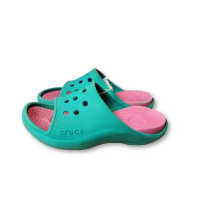 30-as zöld-pink papucs - Crocs