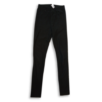 Női XS-es fekete pamutnadrág - H&M