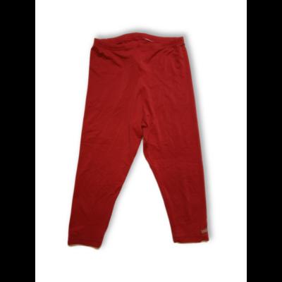 Női M-es piros térdig érő leggigns - Jessica