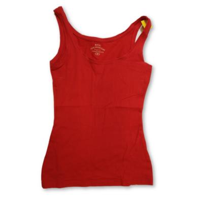 Női XS-es piros ujjatlan póló - Janina