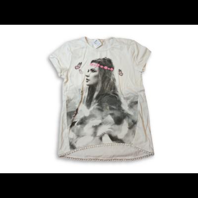 122-28-as fehér lányos póló - Pepco