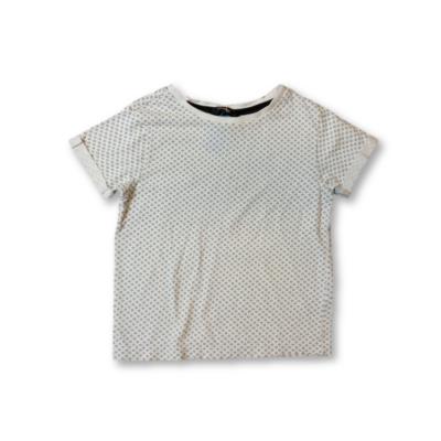 110-es fehér mintás póló - George