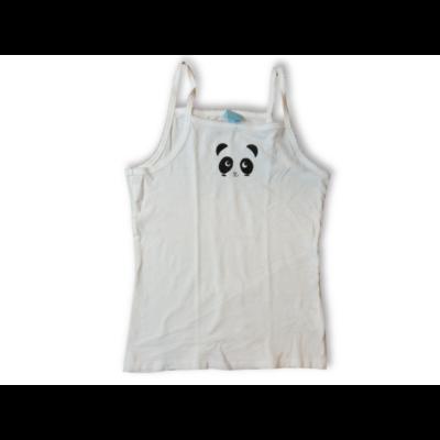 146-152-es fehér pandás trikó - In Extenso