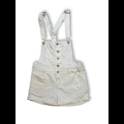 164-es fehér kantáros short, rövidnadrág - H&M