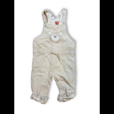86-os drapp macis bélelt kantáros kordnadrág - F&F