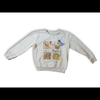 128-as drapp lányos, masnis pulóver - St. Bernard