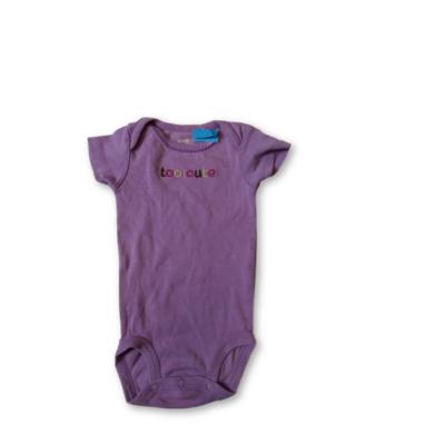 62-es lila rövid ujjú body - Carters