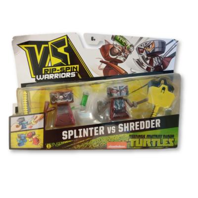 VS Rip-Spin Warriors: Splinter vs Shredder - Tini Nindzsa Teknőcök - ÚJ
