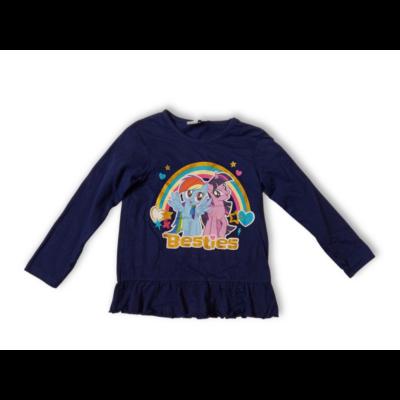110-es kék pamutfelső - My Little Pony - ÚJ