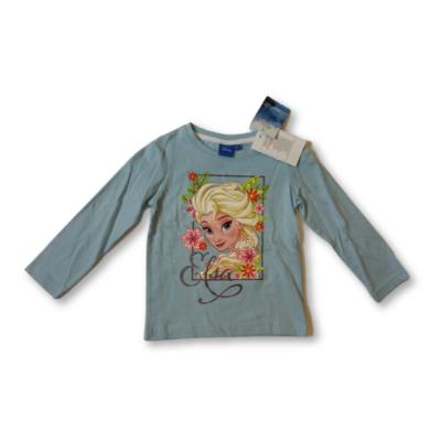 92-es kék pamutfelső - Elza - Frozen, Jégvarázs - ÚJ
