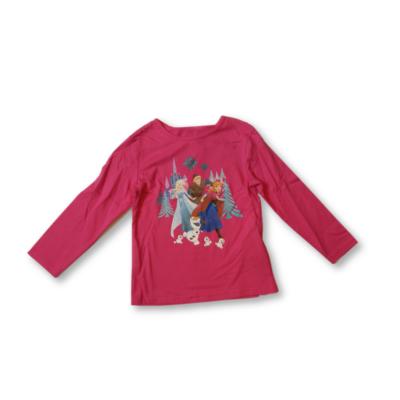 98-as pink pamutfelső - Frozen, Jégvarázs - ÚJ