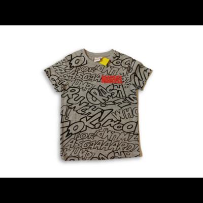 110-es szürke feliratos póló - Marvel - ÚJ