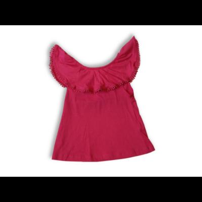 128-as pink rojtos gallérú póló - Y.F.K - ÚJ