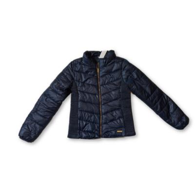 146-os kék lány vastagabb átmeneti kabát - H&M