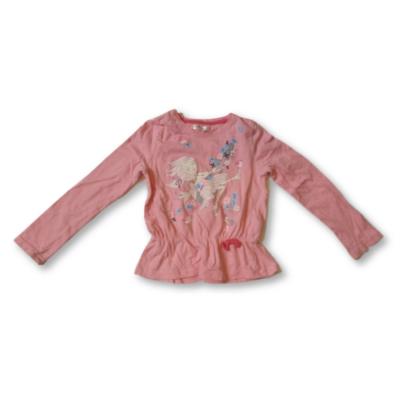 122-es rózsaszín kislányos pamutfelső - Pepco