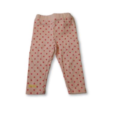 80-as rózsaszín pöttyös leggings