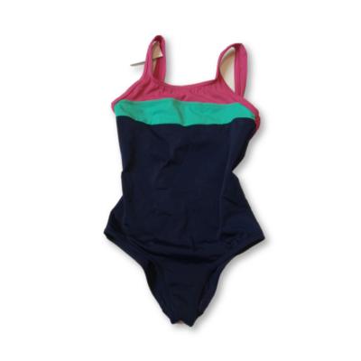 122-es kék-rózsaszín fürdőruha - Tribord, Decathlon