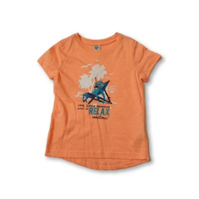 98-as narancssárga polipos póló - Kiki & Koko - ÚJ