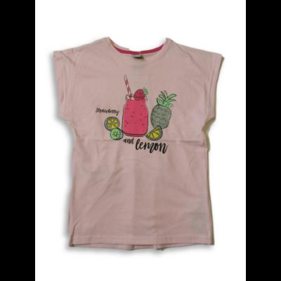 128-as rózsaszín gyümölcsös póló - Y.F.K - ÚJ