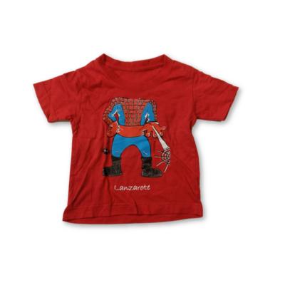 92-es piros póló - Pókember, Spiderman