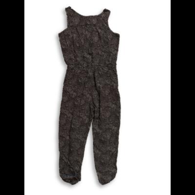 128-134-es fekete-fehér mintás playsuit - H&M