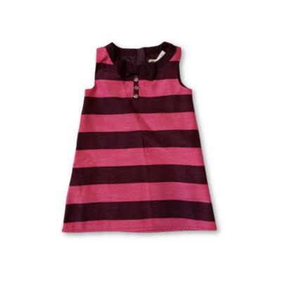 104-es lila-rózsaszín csíkos alkalmi ruha - H&M