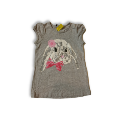 86-92-es szürke nyuszis ruha - George