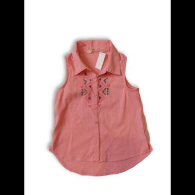 104-es rózsaszín ujjatlan blúz - H&M