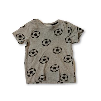 110-es szürke focis póló - H&M
