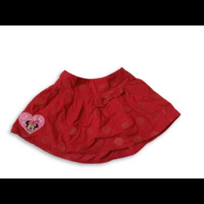 104-es piros pöttyös kordszoknya - Minnie Egér - George