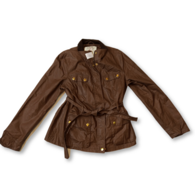 Női XL-es barna átmeneti kabát - New Look