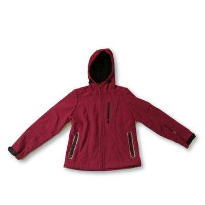 152-es málnaszínű softshell kabát - Falcon