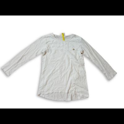 122-es fehér madeirás pamutfelső - Zara