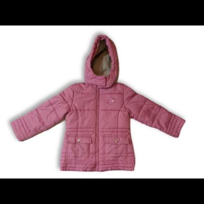 122-es rózsaszín télikabát - C&A