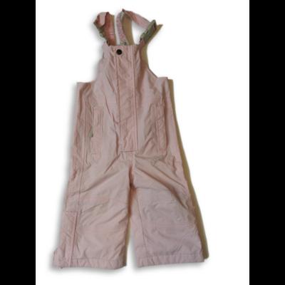 74-80-as rózsaszín kantáros overallalsó - Impidimpi