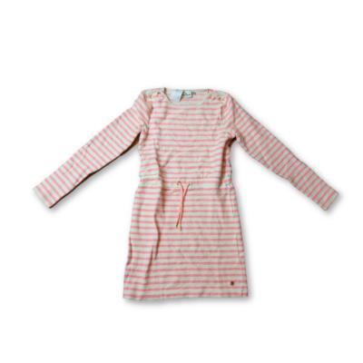 152-es fehér-rózsaszín csíkos ruha - Tom Tailor