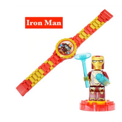 Vasember óra, figurával - Ironman - ÚJ