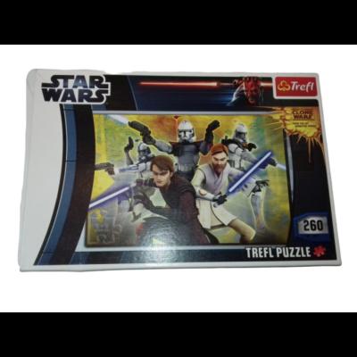 260 db-os kirakó, puzzle - Star Wars - Clone Wars - Trefl